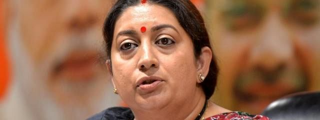 Smriti win a certainty, claims BJP
