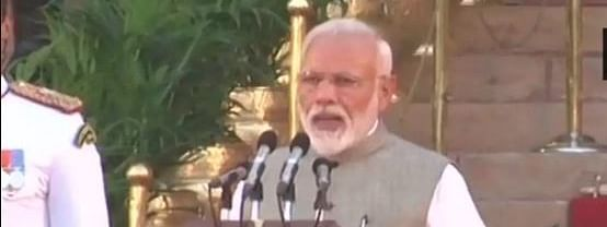 Modi takes oath as Prime Minister for second consecutive term
