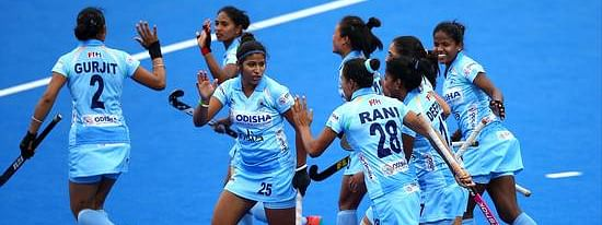 Indian Junior Women's Hockey team leave for Cantor Fitzgerald U21 International 4-Nations Tournament