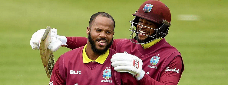 Campbell-Shai's ODI opening stand record help WI secure 196 runs win over Ireland