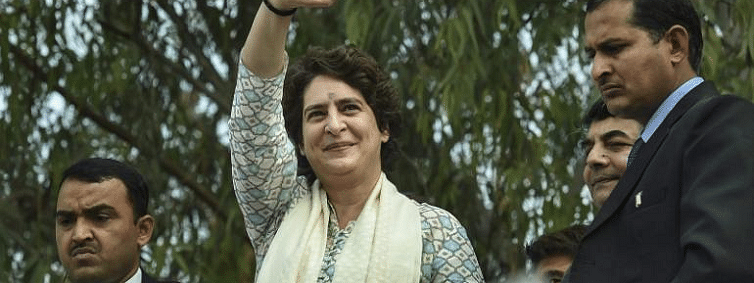 Stage set for Priyanka Gandhi's roadshow