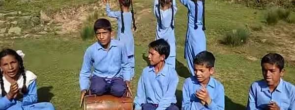School students in Udhampur sing Dogri folk to save trees