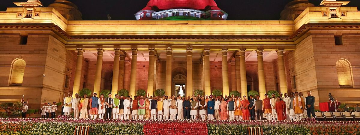 Most Cabinet ministers retain earlier ministries