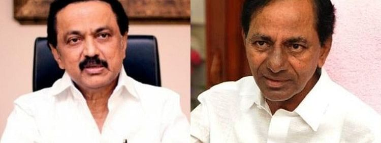 Setback for KCR's third front as DMK chief Stalin unlikely to meet