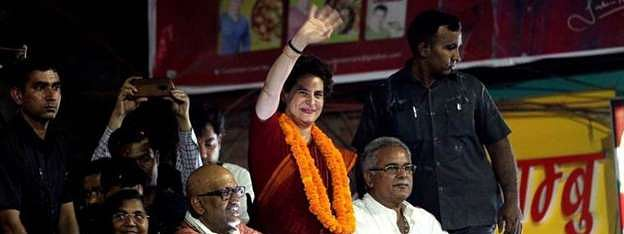 BJP sat idle for 5 yrs, now out with mere publicity: Priyanka
