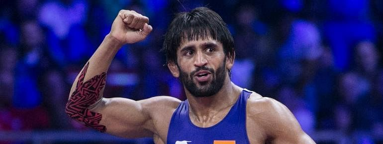 Bajrang Punia bags gold in Ali Aliyev wrestling tournament
