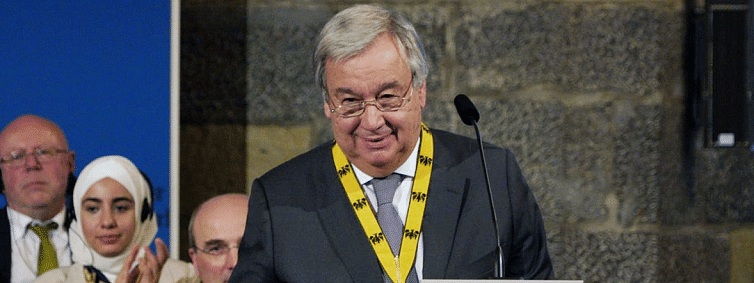 Strong and united Europe essential, says UN chief