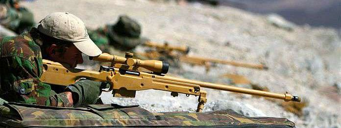 Special units of snipers deployed at LoC