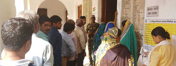 LS polls: 55 pc voter turnout in Capital