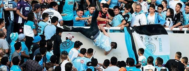 Copa America: Argentina to share hooligan database with Brazil
