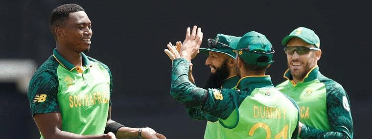 South Africa restrict England at 311/8