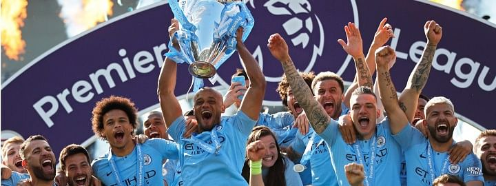 Manchester City claim Premier League title with 4-1 win in Brighton