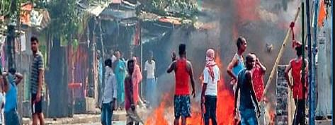 Poll riot: One killed in bomb explosion at Bhatpara