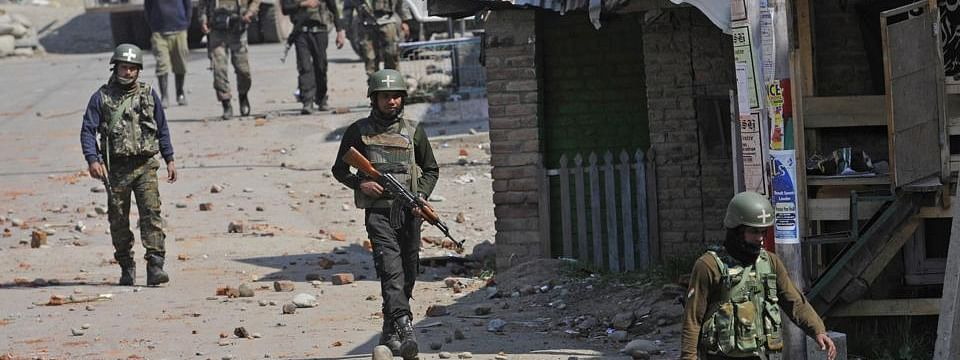 Four militants killed in separate encounters in Kashmir