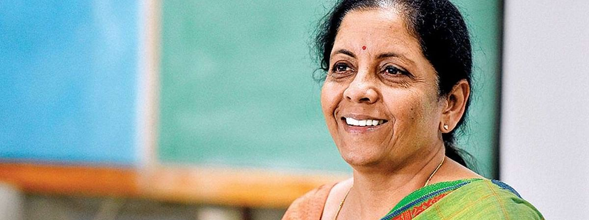 Sitharaman takes charge of Finance Ministry