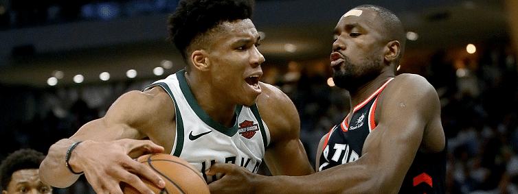 Bucks rally to beat Raptors 108-100 in Game 1