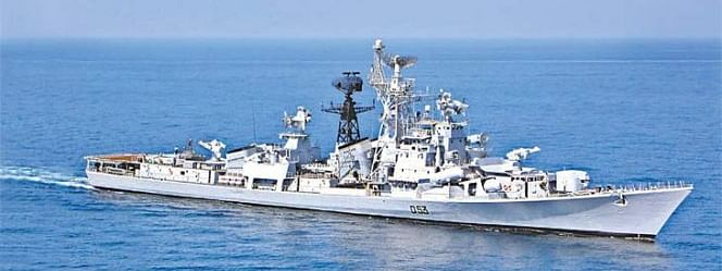 Navy's Rajput class destroyer INS Ranjit decommissioned