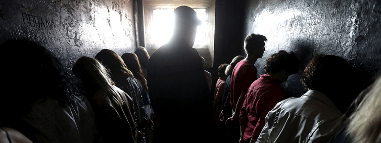 Bed and breakfast behind bars: Dark tourism in Latvia