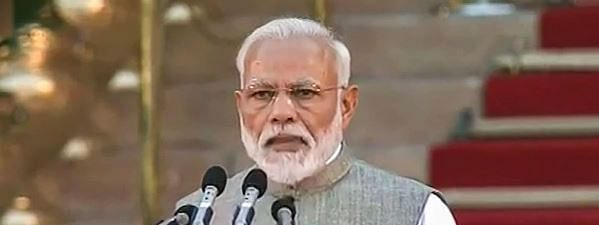 Modi takes oath for second time as PM, leads 58-member ministerial team