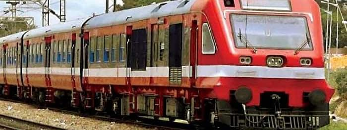 Train service remain suspended in south Kashmir