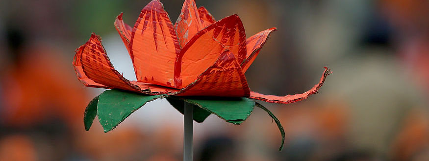Lotus blooms in AP; SKM emerge as a single largest party in Sikkim