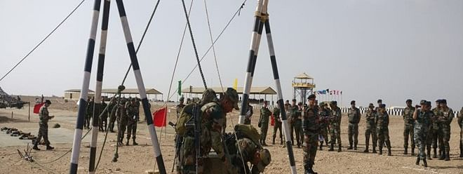 Jaisalmer gears for Int'l Army scout masters competition from July 24