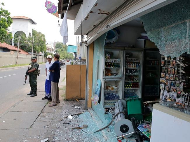 Mosques, Muslim-owned shops and homes attacked in Sri Lanka