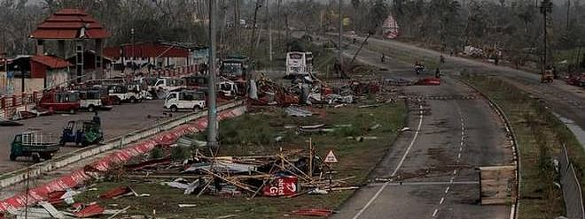 Centre steps up restoration of power & telecom in cyclone-hit Odisha