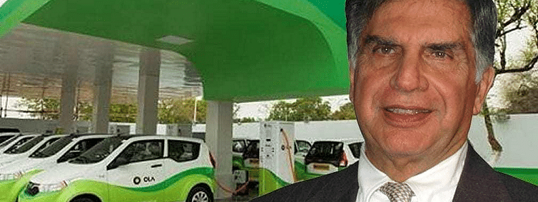 Ratan Tata invests in Ola Electric Mobility