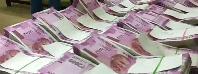 200-cr cash,drugs haul in UP poll