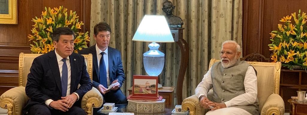 After swearing-in, Prime Minister gets into diplomatic exercise