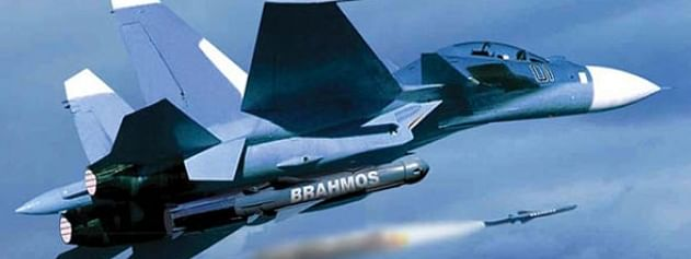 IAF test fires BrahMos missile from Sukhoi
