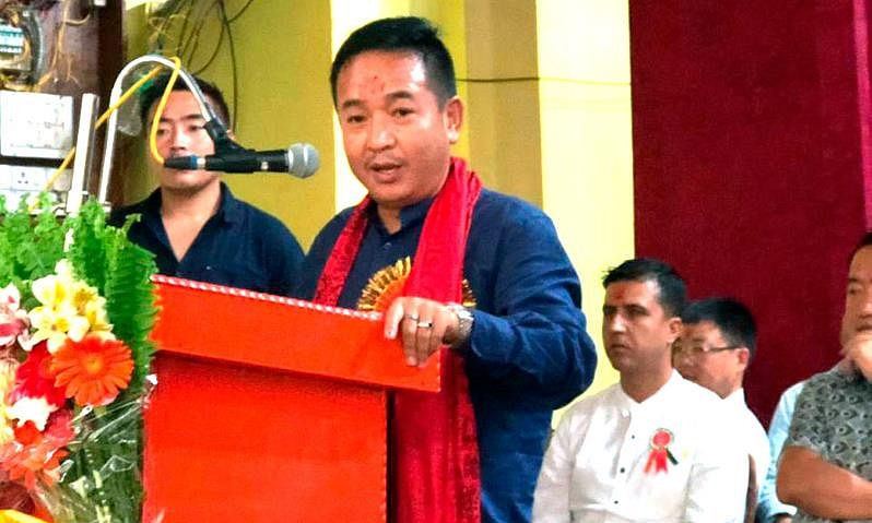 Goley assumes charge as CM of Sikkim
