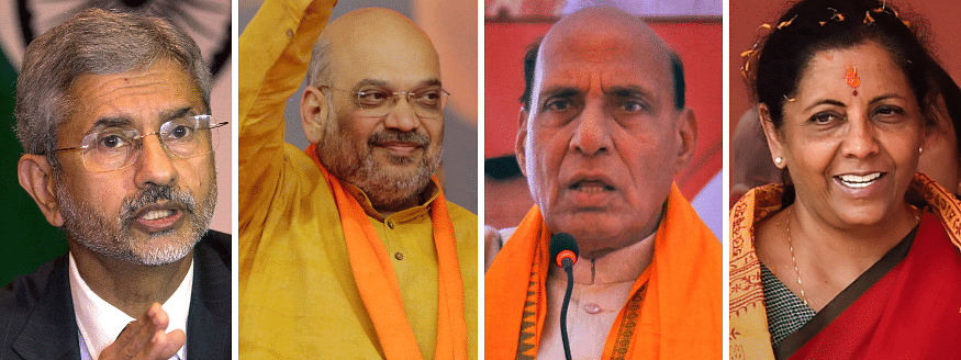 Amit Shah gets home, Rajnath Singh given defence and Nirmala finance