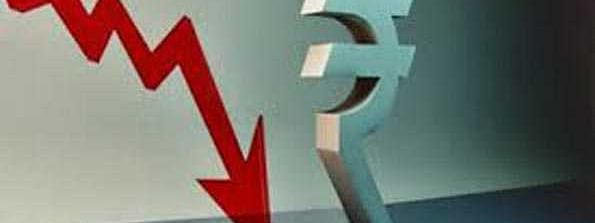 Rupee down by 4 paise against USD