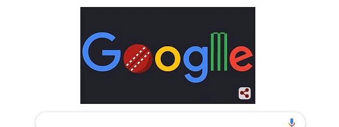 Google marks Cricket World Cup with animated doodle