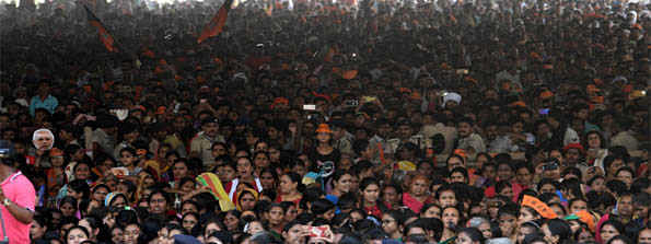 Charged campaigning in last phase of UP polls to end tomorrow evening