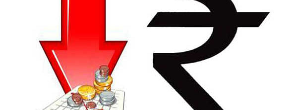 Rupee down by 26 paise against USD
