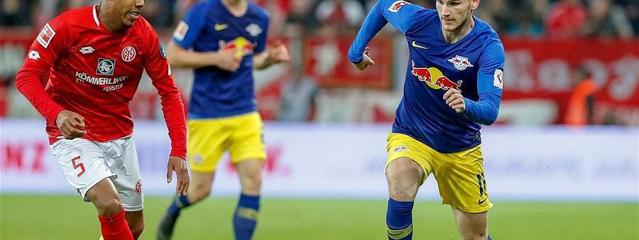 Leipzig share spoils with Mainz in German Bundesliga