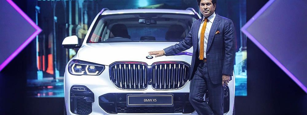 Sachin Tendulkar launches all-new BMW X5