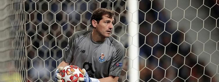 Porto goalkeeper Casillas has heart attack, out of danger now