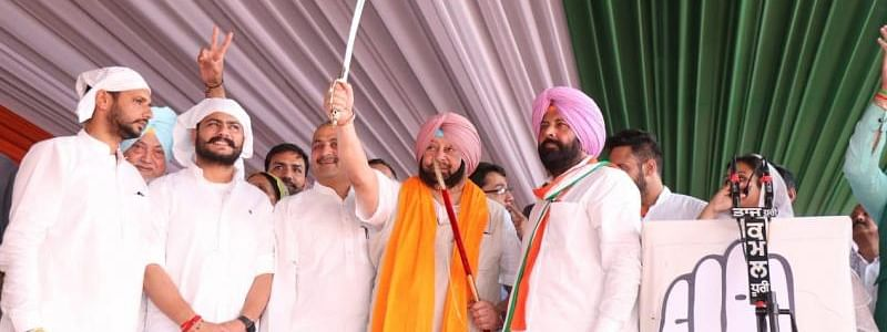 Amarinder calls for united vote to wipe out Akalis
