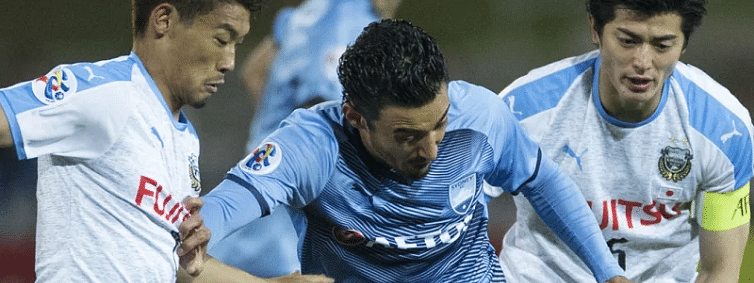 Sydney FC thrashed 4-0 by Kawasaki in AFC Champions League