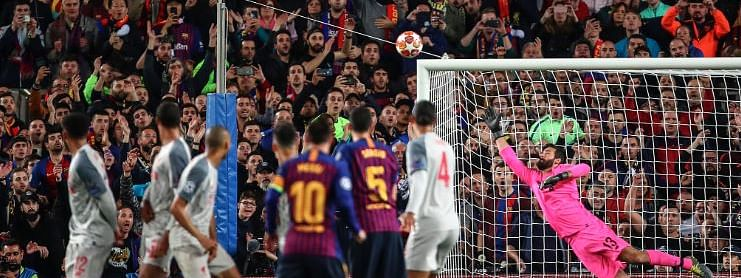 Messi magic helps Barcelona to win against Liverpool (3-0)