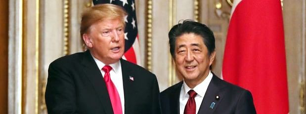 Trump, Abe differ on Kim's missiles