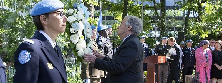 UN honours peacekeepers who paid the 'ultimate price'