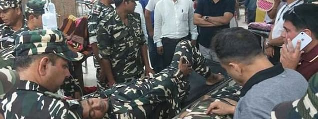Grenade attack on busy Guwahati road; 12 hurt