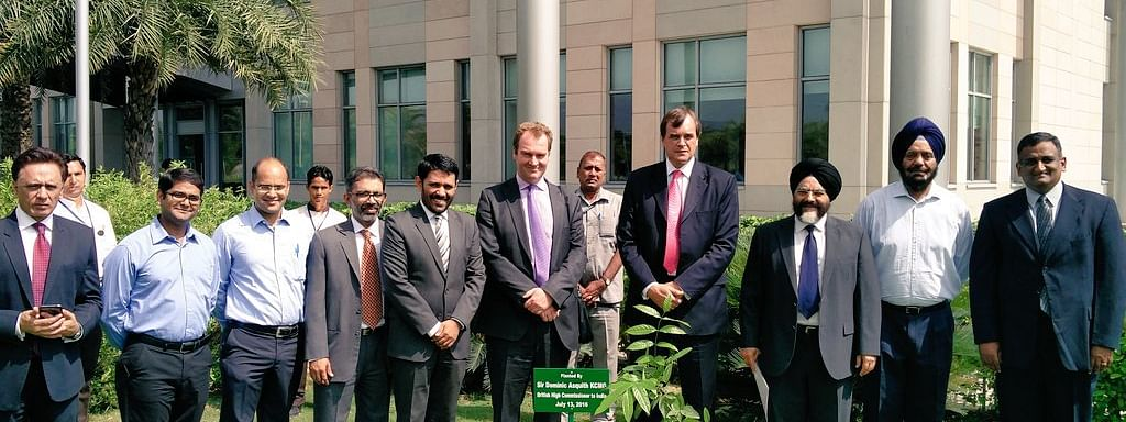 British HC visits ISB campus in Hyderabad