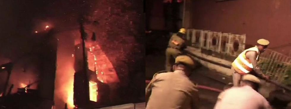 Major fire breaks out at Heritage Grand Hotel in Shimla