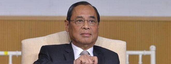 CJI gets the all-clear in sexual harassment case